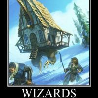 Wizards and alcohol...